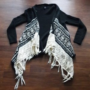 🆕️ Boho Fringe Long Sleeve Cardigan